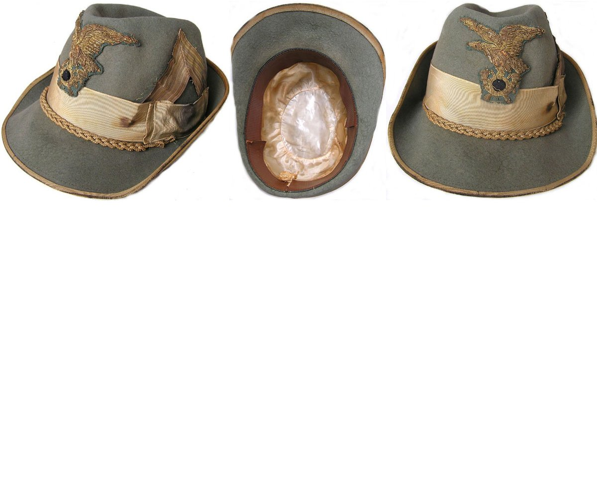 AXIS001. ITALIAN ALPINI OFFICER'S CAP