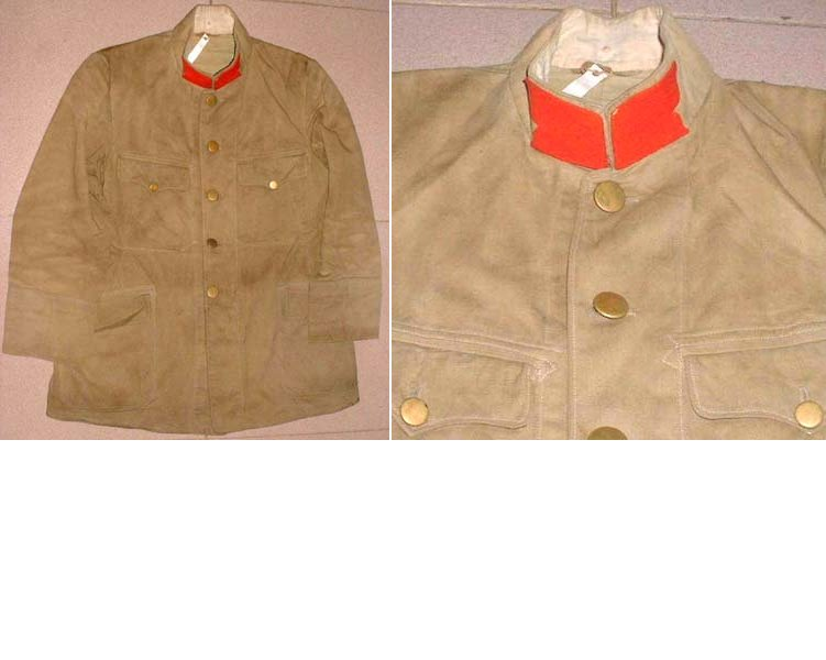 AXIS030. JAPANESE WORLD WAR ONE INFANTRY JACKET