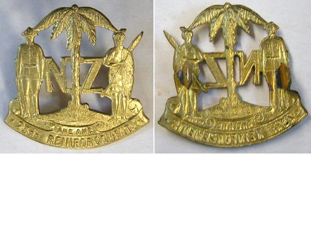 B04/110. 23rd REINFORCEMENTS cap badge