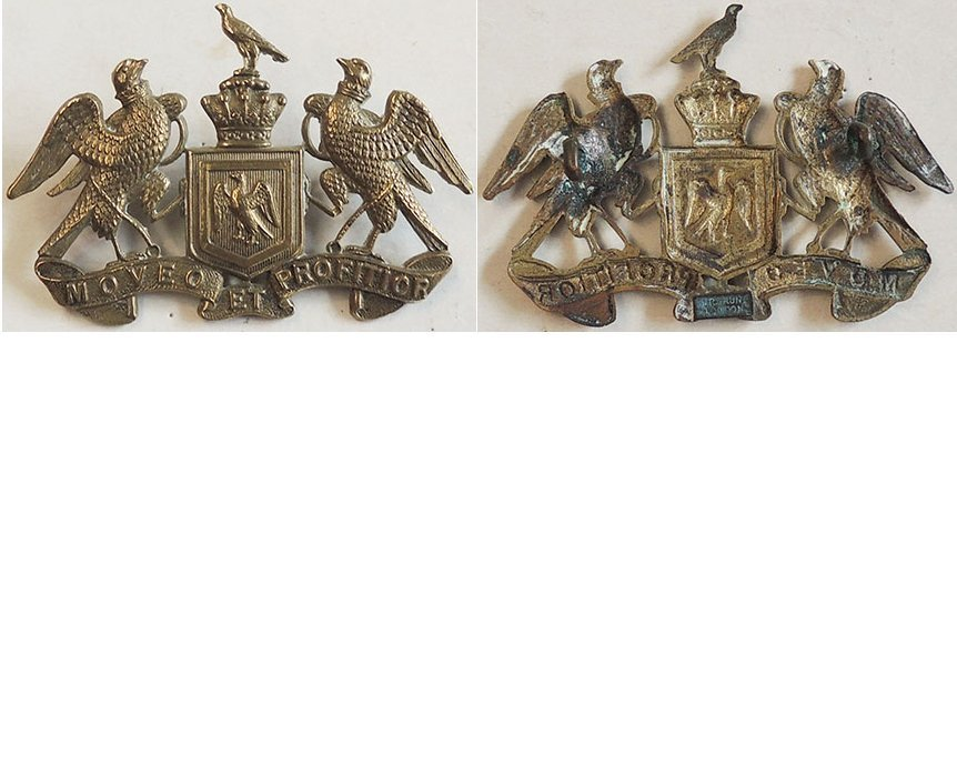 B05/058. 8th (SOUTH CANTERBURY) MOUNTED RIFLES, cap badge small
