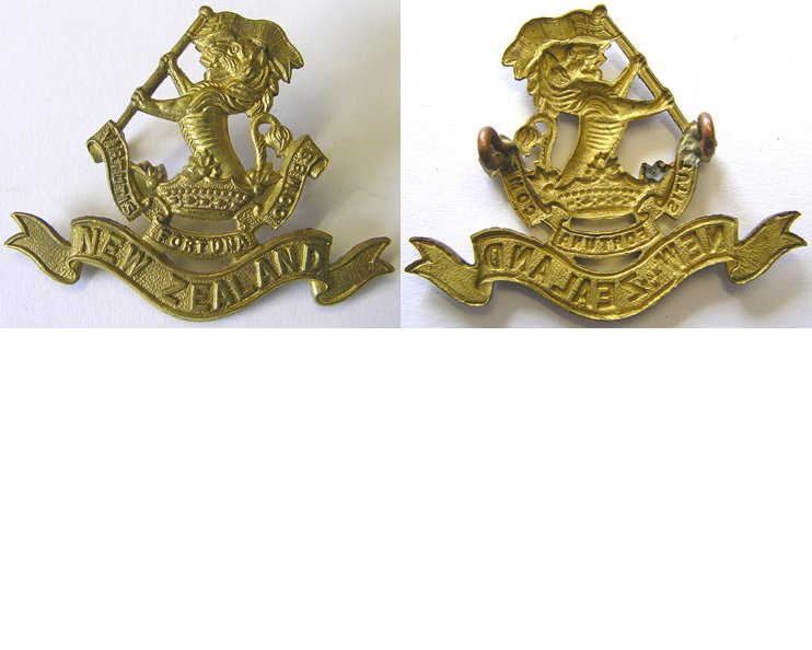 B06/047. 5th (WELLINGTON RIFLES) REGIMENT cap badge, brass