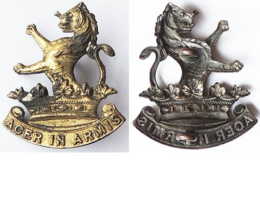 B06/072. 7th (WELLINGTON W.C. RIFLES) REGIMENT, cap badge
