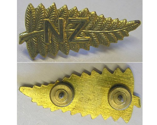 B07/023a. N.Z. TEMPORARY STAFF CAP BADGE, screw-back