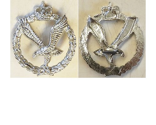 B08/023a	NZ ARMY AIR CORPS anodised left collar, eagle in wreath