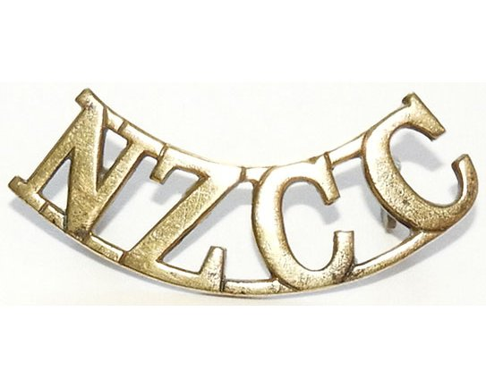 B12/056. NZCC, (New Zealand Cyclist Corps), hexagonal lugs