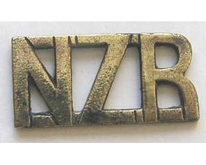 B12/099a. NZR, voided straight (NZ Rifles) short type