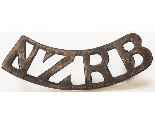 B12/105b	NZRB, curved, longer type, blackened brass