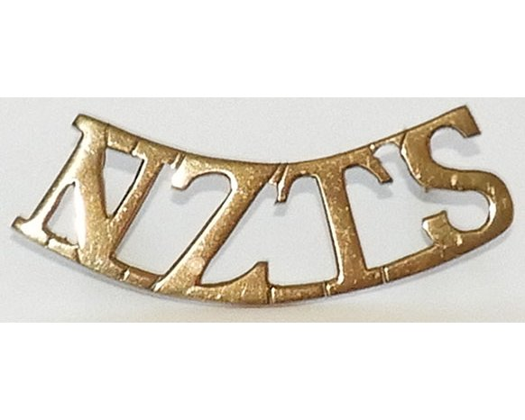 B12/113a. NZTS, curved title (New Zealand Temporary Staff) large