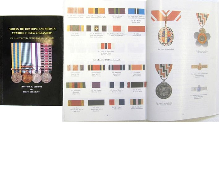BK1000. ORDERS, DECORATIONS & MEDALS AWARDED TO NEW ZEALANDERS