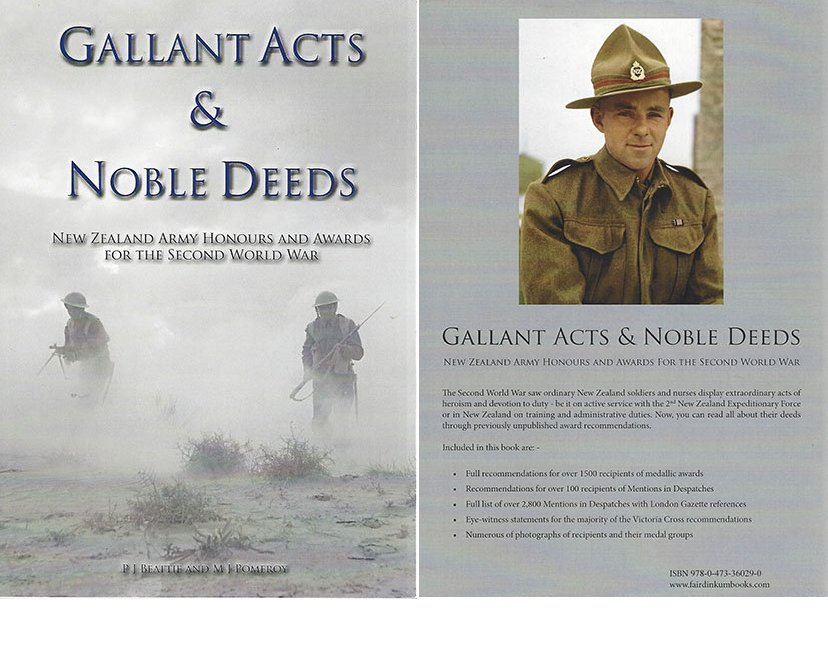 BK1007. GALLANT ACTS AND NOBLE DEEDS
