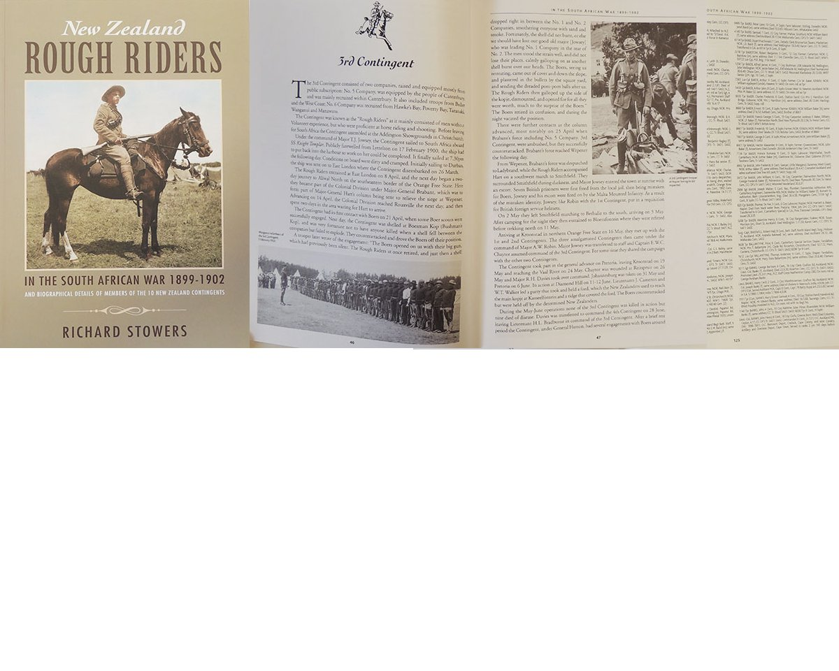 BK1009. ROUGH RIDERS AT WAR Final 8th Edition 2015 by Stowers