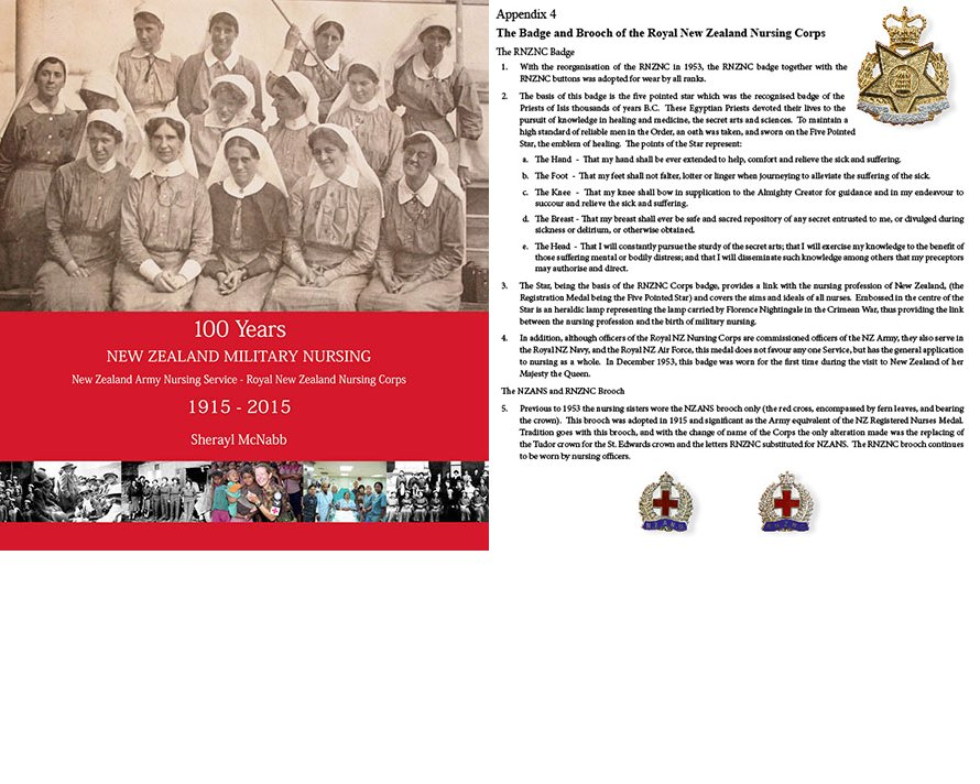 BK1017. 100 YEARS NEW ZEALAND MILITARY NURSING