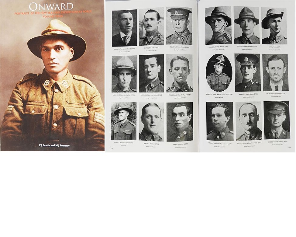 BK1030. ONWARD Portraits of the 1st NZEF 1914-1918 VOLUME 4