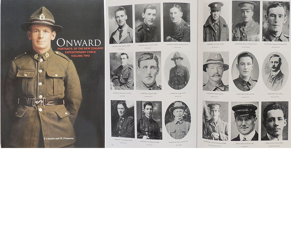 BK1028. BOOK - ONWARD Volume 2 - 4,100 1st.NZEF photos