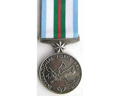 BC0502. AUSTRALIA - INTERFET MEDAL (East Timor)