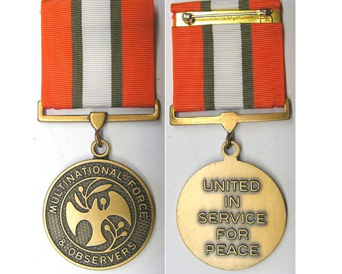 CM0340. MULTINATIONAL FORCE & OBSERVERS MEDAL