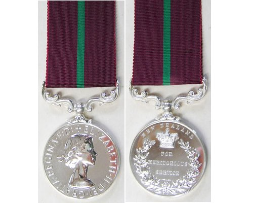 ESA010. NZ MERITORIOUS SERVICE MEDAL EIIR - Unnamed