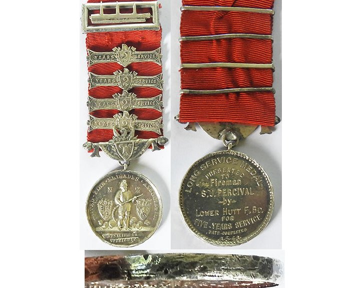 CM0376. SPECIAL CONSTABULARY MEDAL GVIR  - George F. Hall
