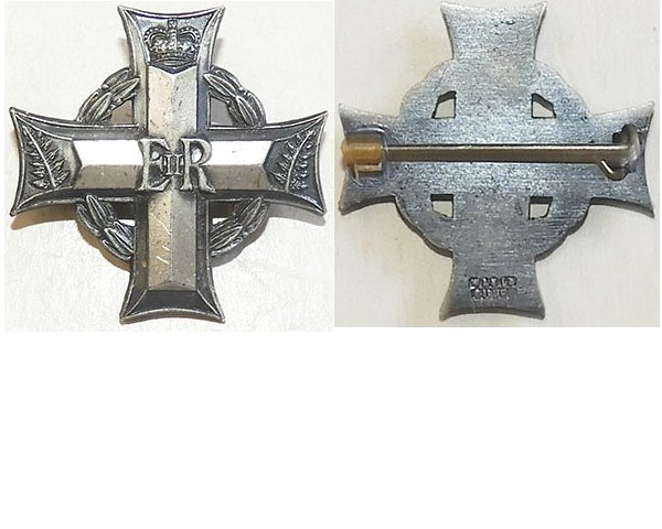 MIS018. NEW ZEALAND MEMORIAL CROSS EIIR, brooch back, unnamed