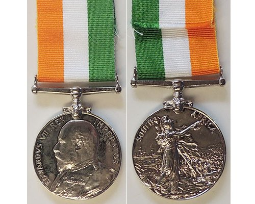 CM0459. COPY KING'S SOUTH AFRICA MEDAL without clasps