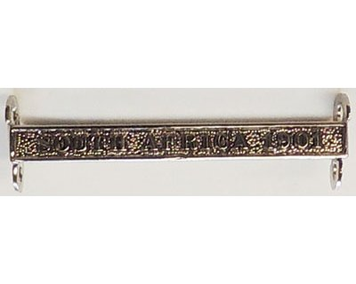 CM0460. COPY QSA / KSA SINGLE CLASP - S.A.1901