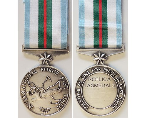 CM0471. COPY AUSTRALIAN INTERFET MEDAL - TASMEDALS Replica