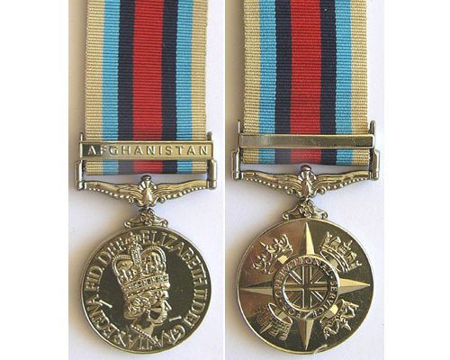 CM0491. COPY BRITISH OPERATIONAL SERVICE MEDAL
