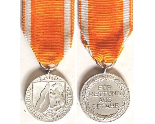 FM0796. LIFE SAVING AWARD IN SILVER, Land Nordrhein Westfalen