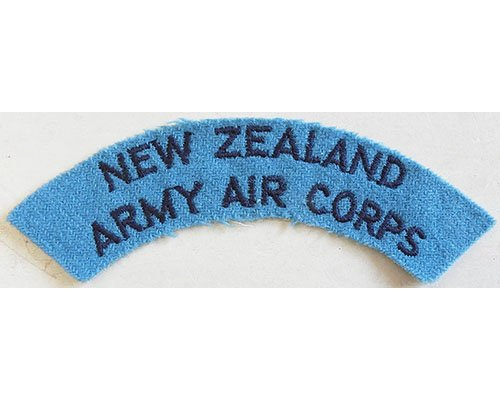 CST013. NEW ZEALAND ARMY AIR CORPS, dark blue on light blue