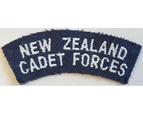 CST082. NEW ZEALAND CADET FORCES, light blue on blue/grey