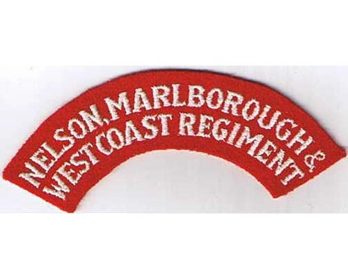 CST005. NELSON, MARLBOROUGH & WEST COAST REGIMENT