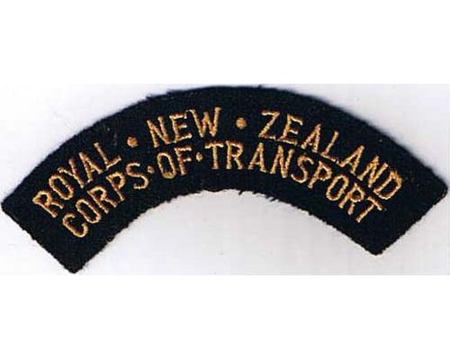 CST036. ROYAL N.Z. CORPS OF TRANSPORT, dots between words