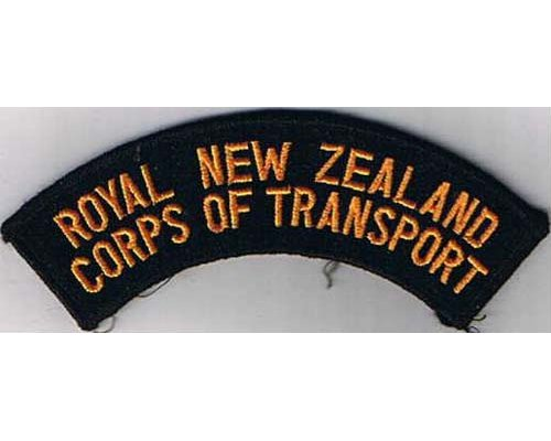CST037. ROYAL N.Z. CORPS OF TRANSPORT, mirrowed edge