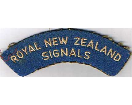 CST051. ROYAL NEW ZEALAND SIGNALS, small letters