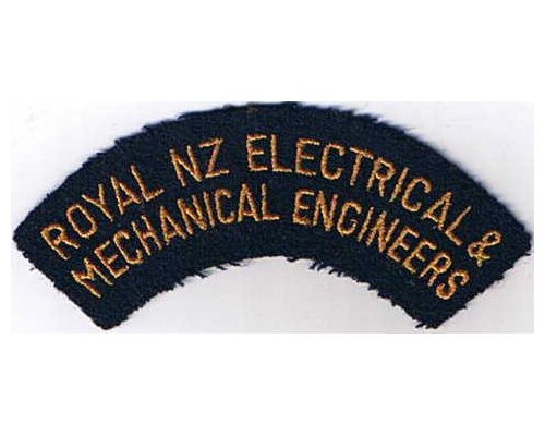 CST030. ROYAL N.Z. ELECTRICAL & MECHANICAL ENGINEERS, wide