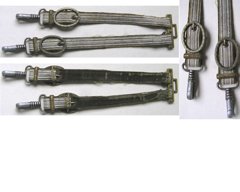 EW1812. GERMAN 1936 MODEL ARMY OFFICER'S DAGGER STRAPS