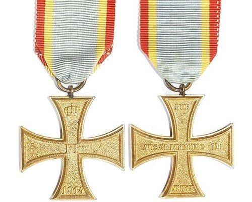 FM0266. MECKLENBERG-SCHWERIN Military Service Cross 2nd Class