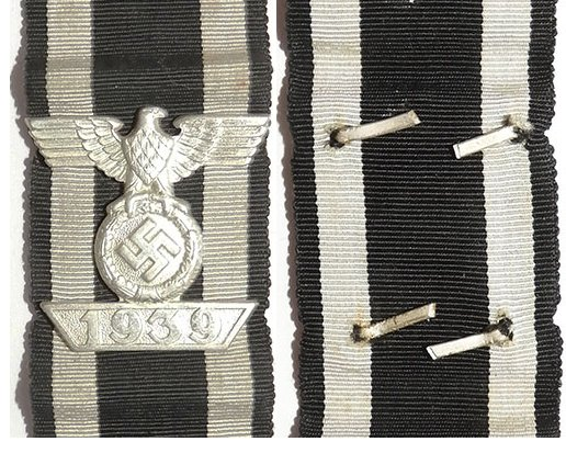 FM0309. 1939 BAR TO THE IRON CROSS 2nd Class 1914
