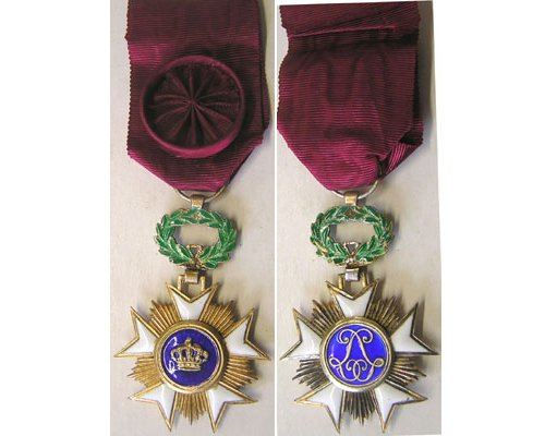 FM0428. Belgium ORDER OF THE CROWN, Officer