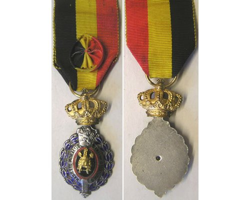 FM0435. Belgium CIVIL SERVICE DECORATION