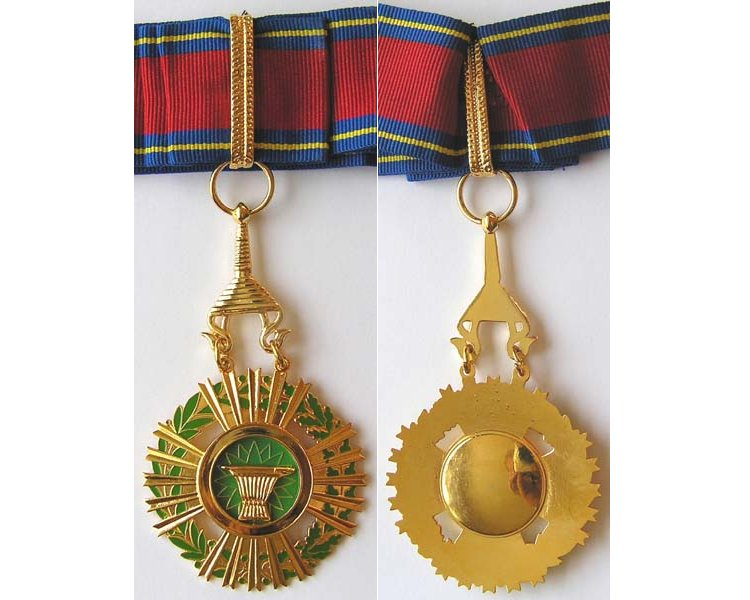 FM0509. ROYAL ORDER OF SAHAMETREI, Commander's neck badge