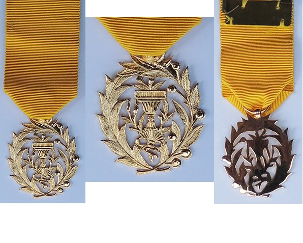 FM0521. ROYAL ORDER OF MONISARAPHON, Chevalier's breast badge