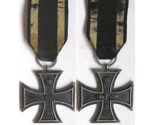 FM0210. IRON CROSS 2nd Class 1914 - WWI manufacture