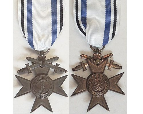 FM0629. BAVARIA MILITARY SERVICE CROSS 1913-1918, 3rd Class