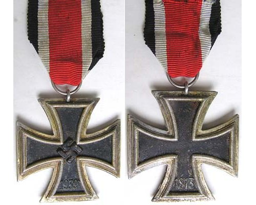 FM0307. IRON CROSS 2nd Class 1939 - without hallmark