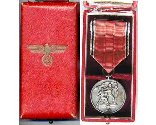 FM0666. COMMEMORATIVE MEDAL OF 13 MARCH 1938, in box
