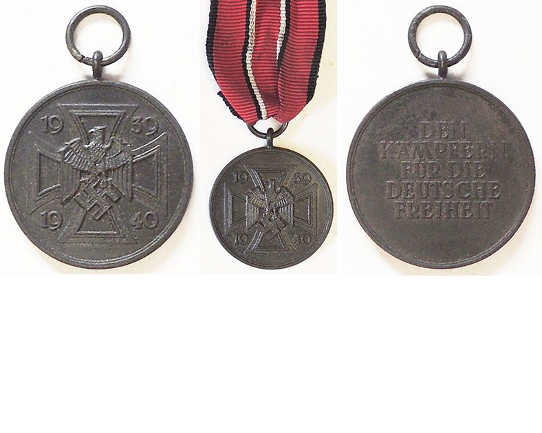 FM0670a. WAR COMMEMORATIVE MEDAL 1939-1940, magnetic iron