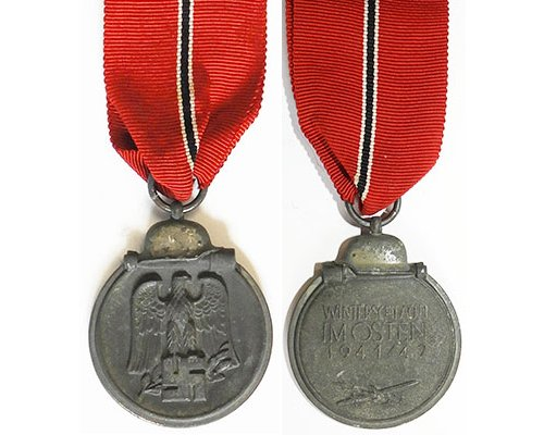 FM0672. MEDAL FOR THE WINTER CAMPAIGN IN RUSSIA 1941/42