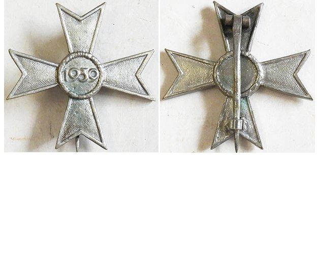 FM0785. WAR MERIT CROSS 1st Cl. 1939, w/out swords, 1957 version