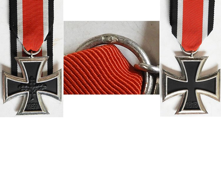 FM0787. IRON CROSS 2nd CLASS 1939, 1957 version, oakleaf centre
